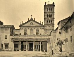 Базилика Санта-Чечилия-ин-Трастевере (фото ок. 1900 г.)