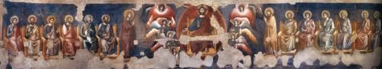 Пьетро Каваллини. Фреска в базилике Санта-Чечилия-ин-Трастевере (1295-1300)
