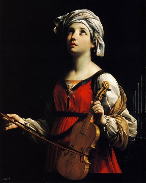 Гвидо Рени. Святая Цецилия (1606)