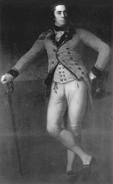 Антон Графф. Портрет Томаса Брюса, 7-го графа Элгин (ок. 1788 г.) (Брумхолл-хаус, Шотландия)