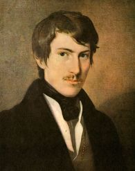 Фридрих фон Амерлинг. Портрет Николауса Ленау (?)