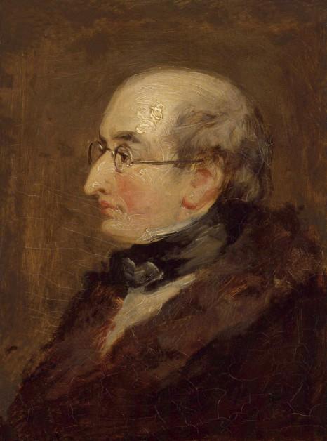 Бенджамин Роберт Хейдон. Автопортрет (до 1846 г.)